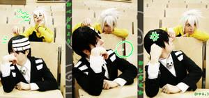 Soul Eater: Fun at school by da-monkey