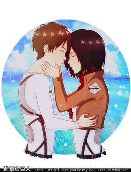 Beside me...[Mikasa x Eren] by Antifashion19