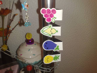 kawaii food magnets by Hoi-Ling