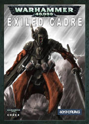 Codex: Exiled Cadre Cover Art by ImpRS