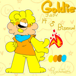 Goldie Ref by PsychoToons