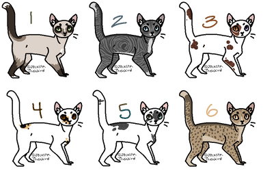 CLOSED Cat Breedables by LillyofIndominus