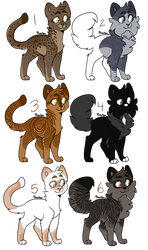 ON HOLD Cat Breedables by LillyofIndominus