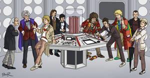 Full TARDIS by thecommonwombat