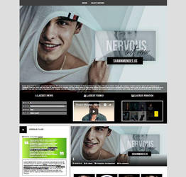 WordPress Premade 001-Nervous by JohnnyLand