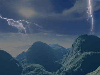 Stormy planet by rozoga666