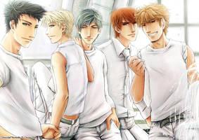 Boysband II by CloverDoe