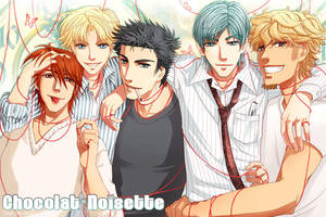 Boysband IV by CloverDoe