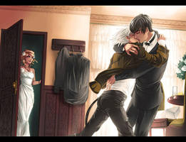 ::Commish:: Oops for Kantashiro by CloverDoe