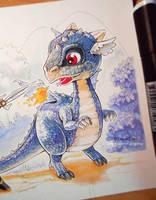 Sweety Dragon by CloverDoe
