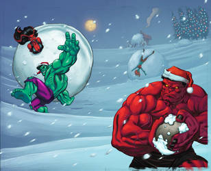 Santa Hulks by SotoColor