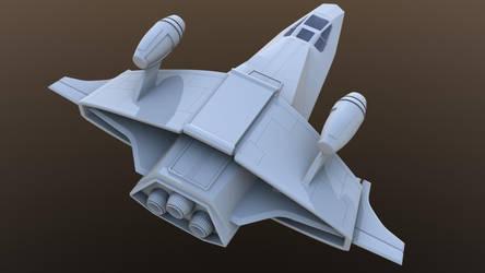 Wing Commander Scimitar by Zohrath