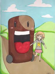 Taking a walk by takokun