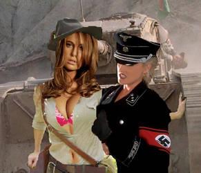 Indiana Elle Vs Nazi 2 by a-teaman