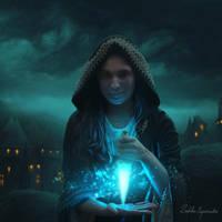 Mystical light of Dagger by SubhaSporsho