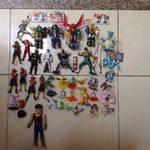 Figures For Sale by KenTaShin991