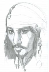 Cap'n Jack Sketch by psyence-kyo