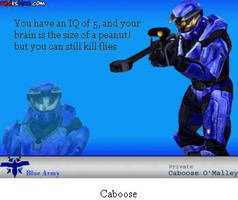 I'm Caboose by KimmyM