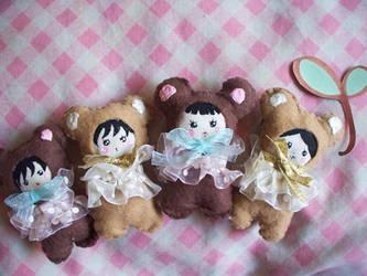 Bunka Inspired 2-way Dolls by lemontreecrafts