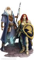 Battle Axe : Humans by WillOBrien