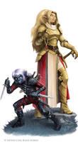 Battle Axe : Elves by WillOBrien
