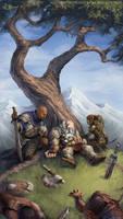 Fallen warrior by WillOBrien