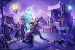 Pathfinder: Fey-world Market by WillOBrien