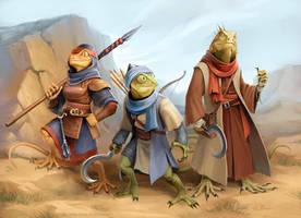 Pugmire: Lizard Folk by WillOBrien
