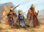 Pugmire: Lizard Folk by WillOBrien