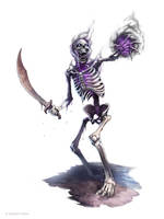 Shadow Skeleton by WillOBrien