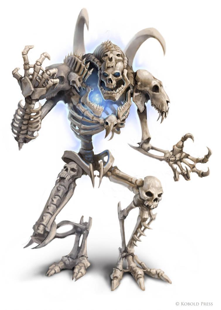 Bone Golem by WillOBrien