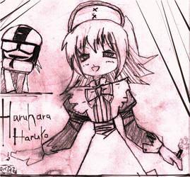 Haruhara Haruko from FLCL. by nicoleiakay