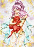 You are sooo cute - colo by x-Haru-x
