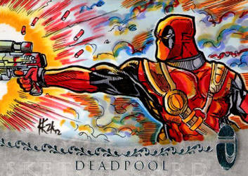 Marvel Premier Deadpool by ElvinHernandez