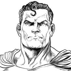 Superman test by ElvinHernandez