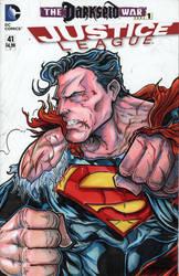 Justice League Superman low res by ElvinHernandez