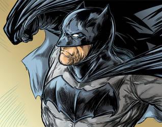 New Batman Colors by ElvinHernandez