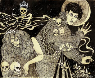 Hamlet and Ophelia by ConfusedLarch