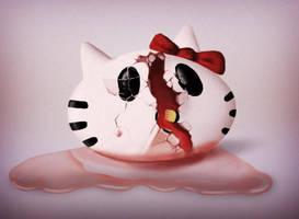 q huevo con kitty by GenaroDesia