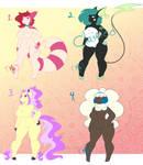 Pokegirl Adopts [Open] by Mekachii