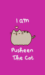 Wallpaper pusheen the cat by ScarletIsbell