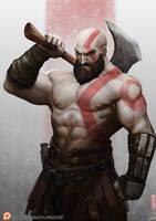 Kratos by. Torzio by kaabhouse