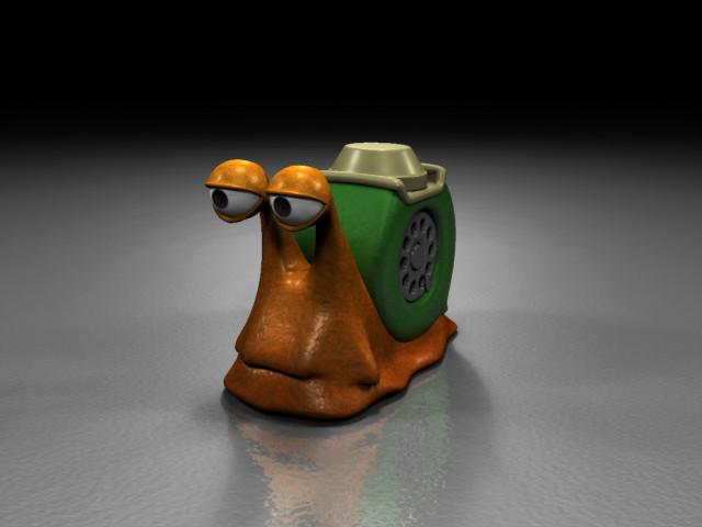 Den Den Mushi 3D by MakuTechInd
