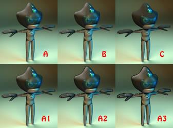 Sharkman Texture Test by MakuTechInd