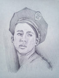 Channing Sketch by MakuTechInd