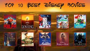 SGP's Top 10 Best Disney Movies by SuperGamePlayer