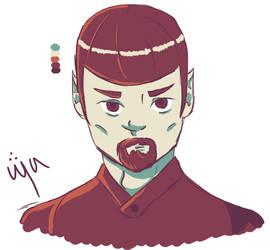 Mirrorverse Spock - Palette #73 by ganondumb