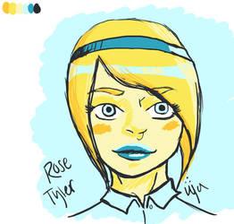 Rose Tyler - palette #12 by ganondumb