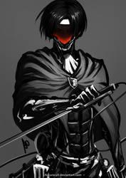 Metal Gear Rivaille by borjen-art