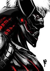 Armored Sundowner Titan by borjen-art